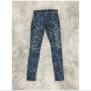 Citizens Of Humanity Avedon Paisley Jeans 25-27x32
